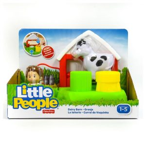 Little People Dairy Barn Playset