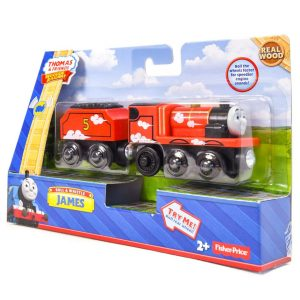 Thomas & Friends Wooden Railway: Roll & Whistle James