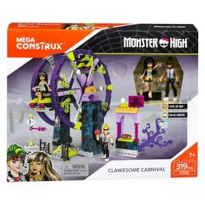Mega Construx Monster High Clawsome Carnival (319 Piece) Set