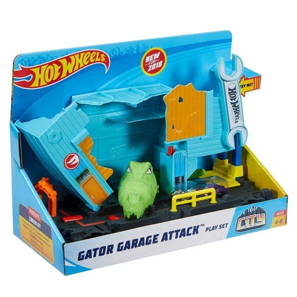 Hot Wheels Gator Garage Attack