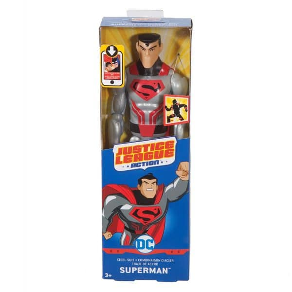 DC Justice League Action Figure Steel Suit Superman