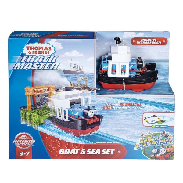Thomas and Friends Boat and Sea Set