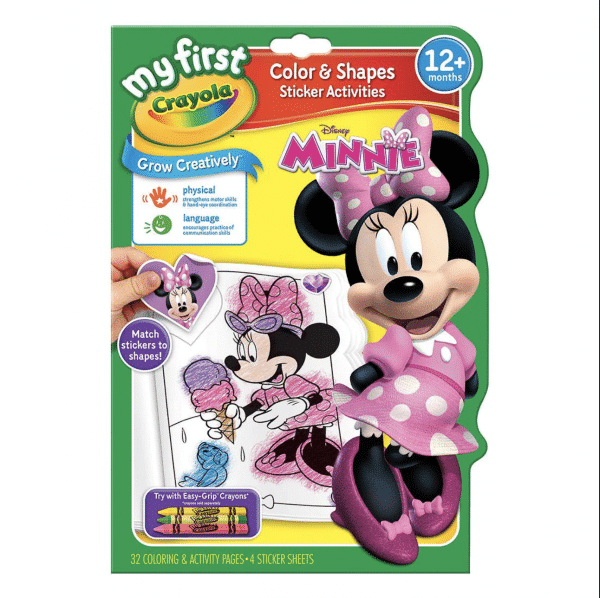 My First Crayola Color and Shapes - Minnie