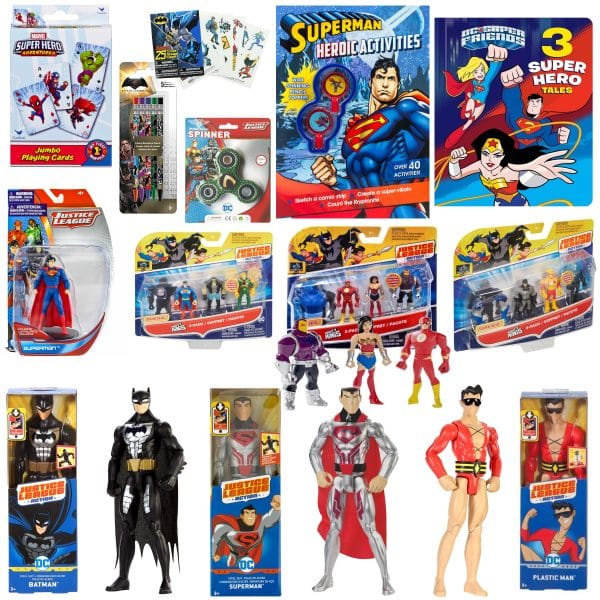 Superhero Toy Bundle
