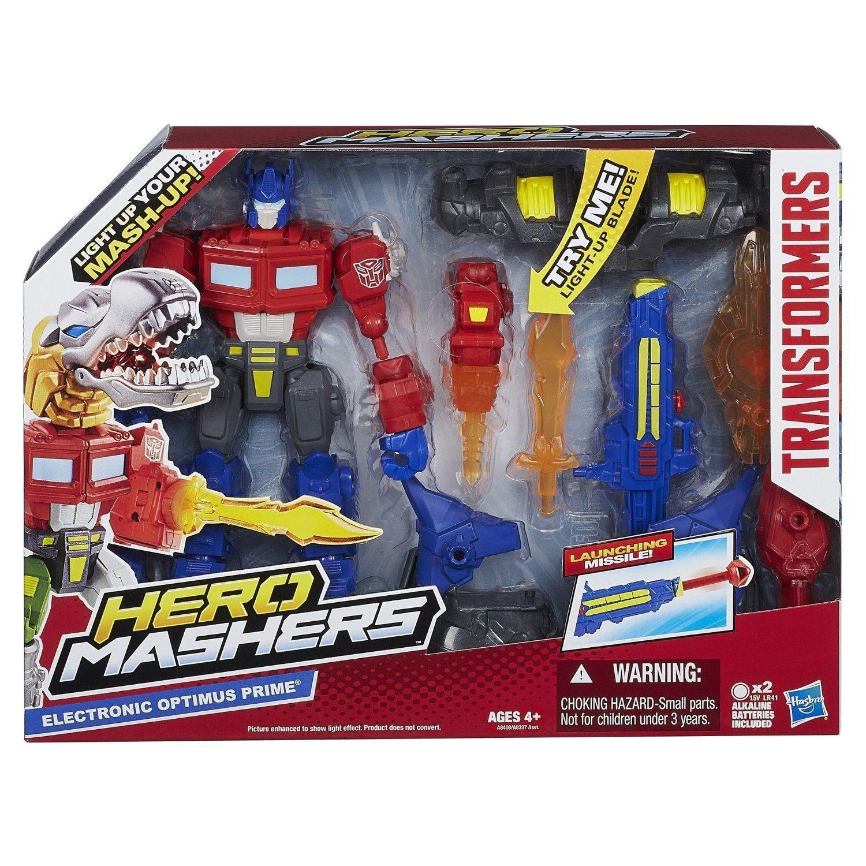 Toys For Boys 5 7 Transformers : Transformers hero mashers electronic optimus prime samko
