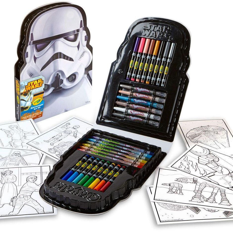Crayola Star Wars Stormtrooper Art Kit Samko And Miko Toy Warehouse