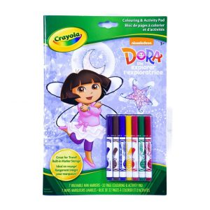 Crayola Dora Colouring & Activity Pad