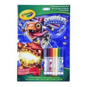Crayola Skylanders Colouring & Activity Pad