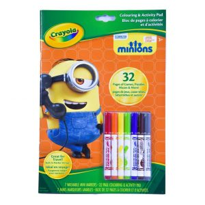 Crayola Minions Colouring & Activity Pad