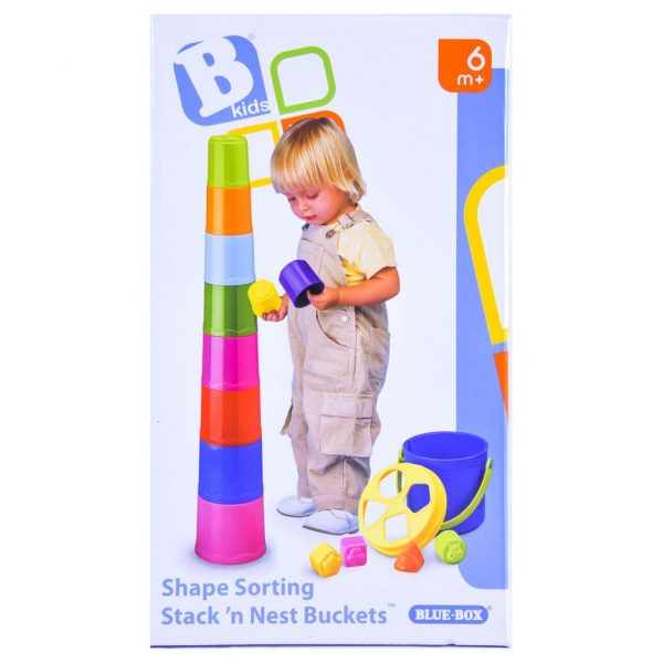 Stacking Cups & Shape Sorter