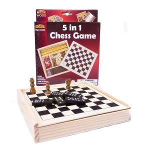 5 in 1 Chess Game