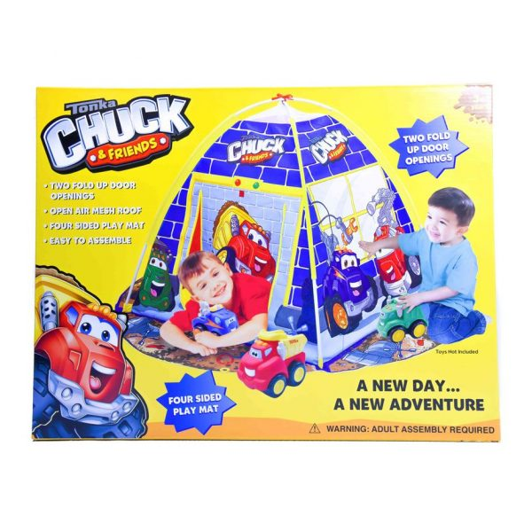 Tonka Chuck and Friends A New Day A New Adventure Tent