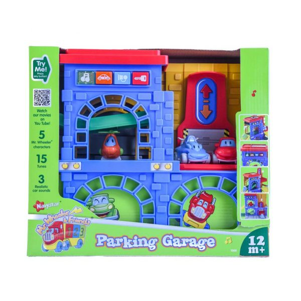 Parking Garage By Mister Wheeler and Friends
