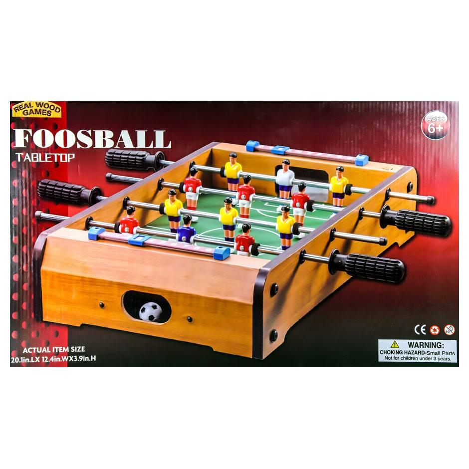 Wooden Foosball 20 Real Wood