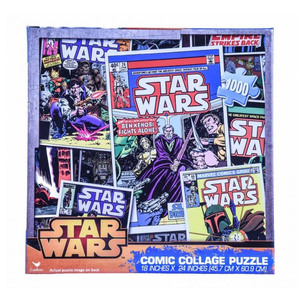 Star Wars Comic Collage Puzzle 1000pc.