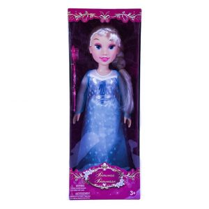 "19"" Winter Princess Doll w/ Access"
