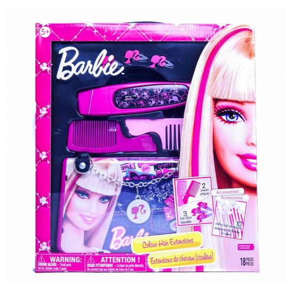Barbie Color Hair Extensions