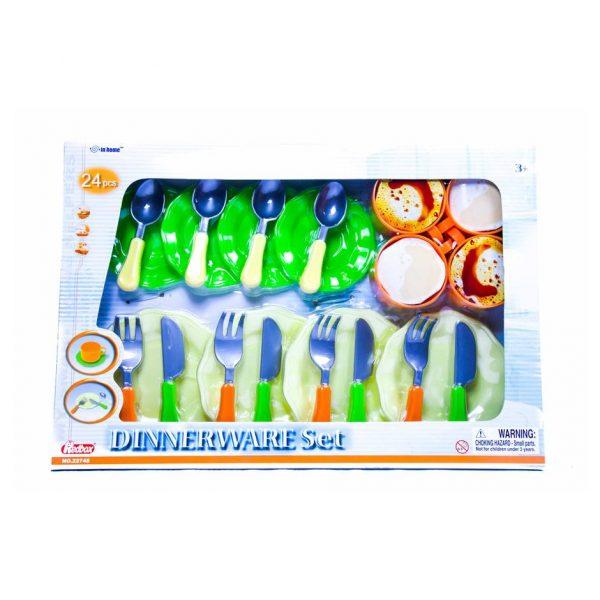 Dinnerware Set 24 Piece Play Set