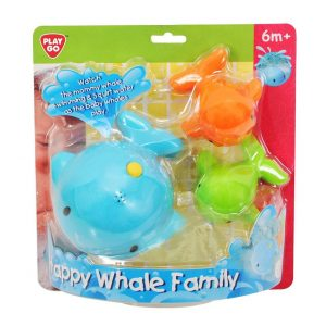 Happy Whale Family