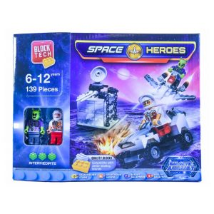 Block Tech Space Heros Galactic Assault 139pc
