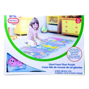Little Tikes Giant Foam Floor Puzzle 33pc.