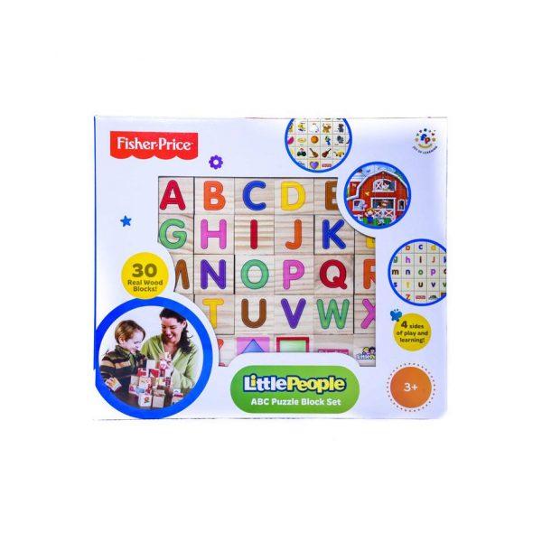 Little People ABC Puzzle Block Set