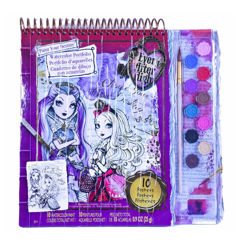 Ever After High Watercolor Portfolio