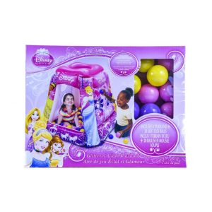 Disney Princess Glitter n' Glam Playland w/20 Balls