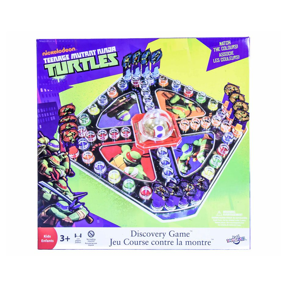 sold out tmnt discovery game samko and miko toy warehouse