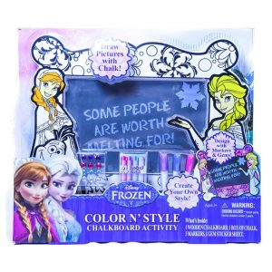 Frozen - Color N' Style Chalkboard Activity