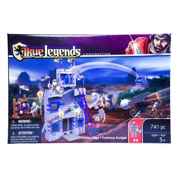 True Legends Fortress 741pc.