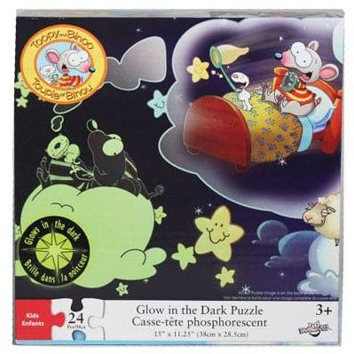Toopy & Binoo 24 Piece Glow in the Dark Puzzle