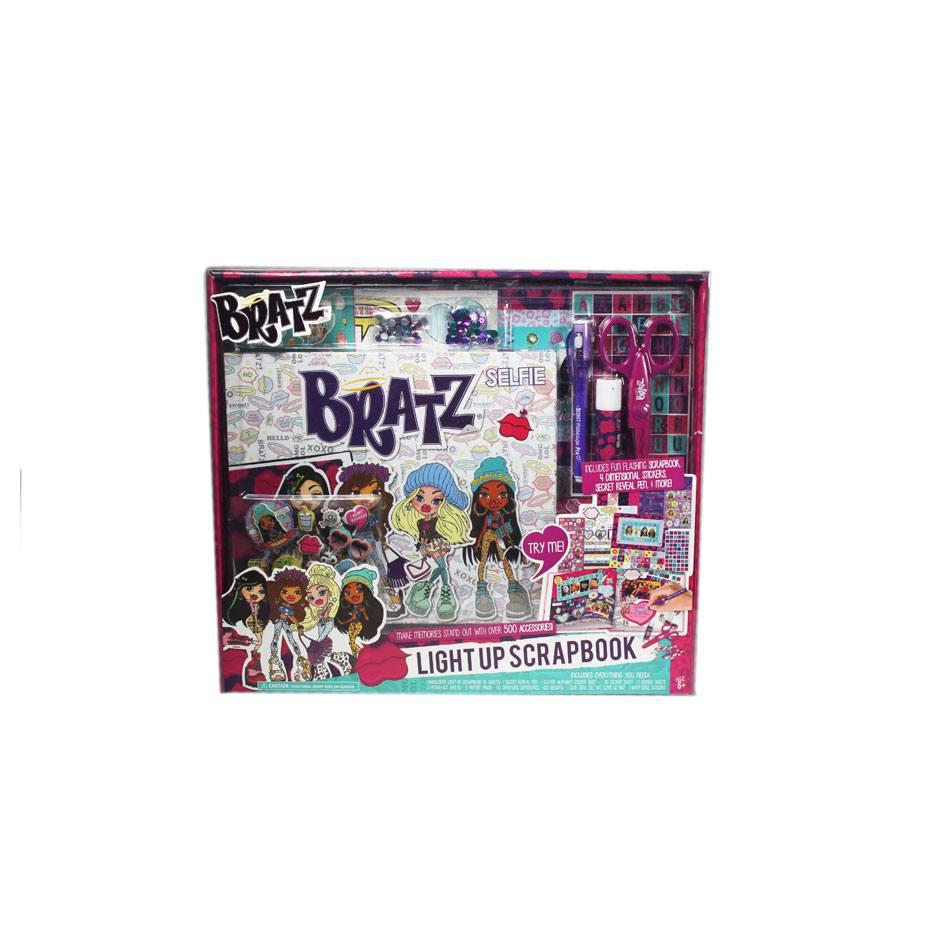 Bratz Light Up Scrapbook Gift Set