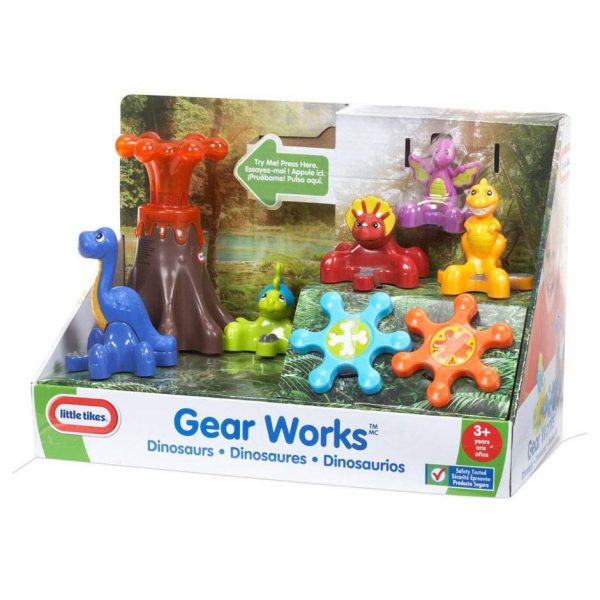 Little Tikes Gear Works Dinosaurs