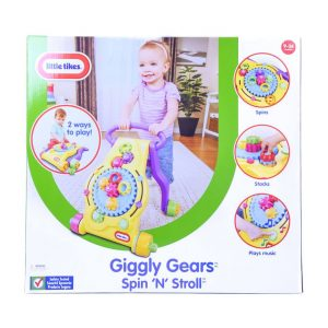 Giggly Gears Spin 'n' Stroll
