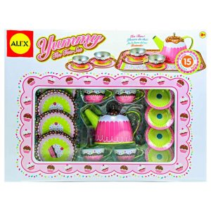 Yummy Tin Tea Set - 15pc.