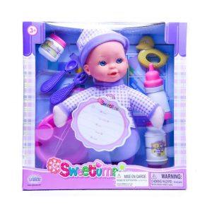 "Sweetums Doll Gift Set 11"" Soft Body"