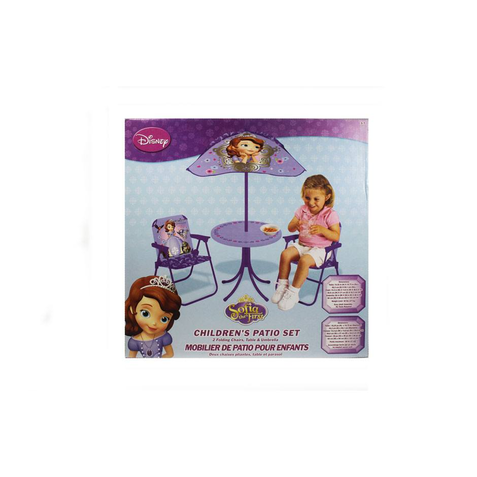 Sold Out Sofia The First Classic Patio Set Samko And Miko Toy