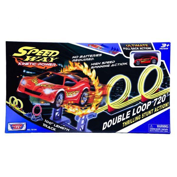 Speed Way Double Loop 720 Degrees