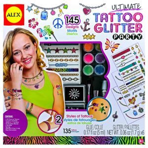 Ultimate Tattoo Glitter Party