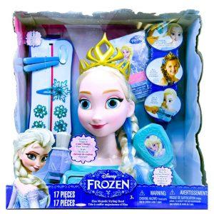 Frozen Majestic Hair Styling Head Asst.