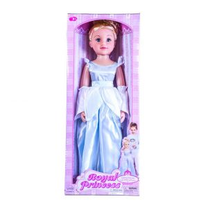 "Royal Princess Doll 28"" Blue Dress"