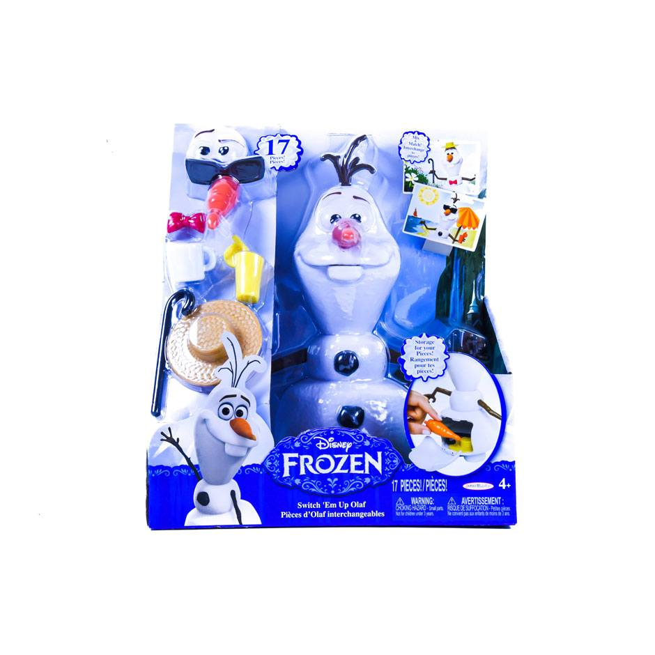 Switch It Up Toys : Frozen switch em up olaf samko and miko toy warehouse