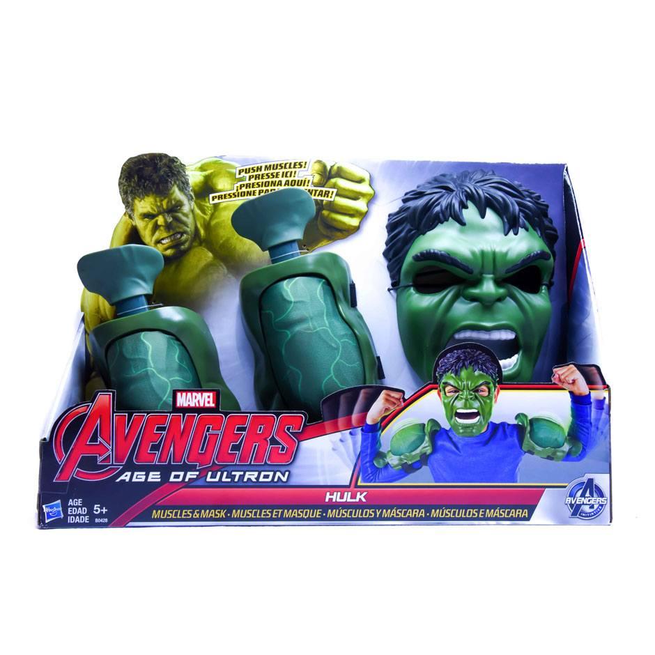 Avengers Age of Ultron Hulk Muscles & Mask