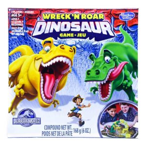 Wreck'n Roar Dinosaur Game - Jurassic World