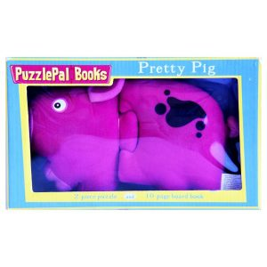 Puzzle Pal Books - Pretty Pig