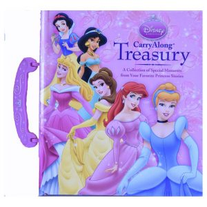 Disney Princess Carry Along Treasury w/ Handle