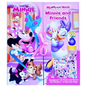 Minnie and Friends Storybook Set - Ribbon Closure