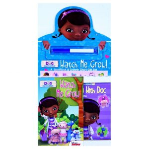 Doc McStuffins Watch me Grow Storybook with Chart