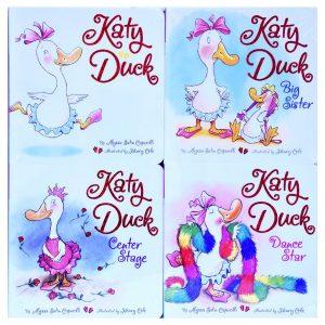 Katy Duck 4 Book Set